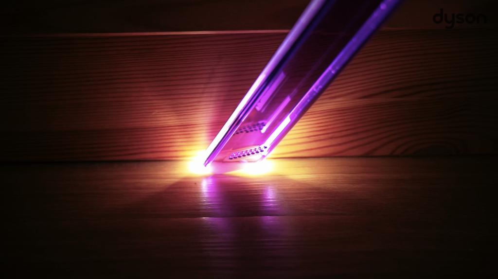 หัวดูดปากแคบที่มีไฟ LED