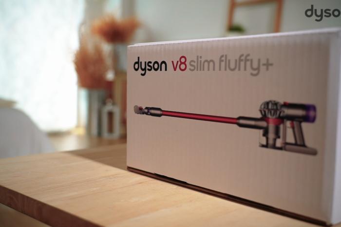 รีวิว Dyson V8 Slim Fluffy+ เครื่องดูดฝุ่นไร้สาย